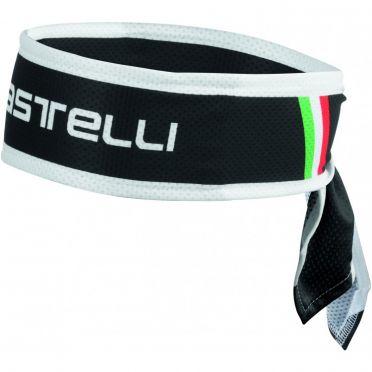 Castelli Headband fiets hoofdband zwart
