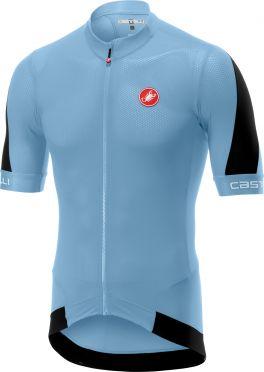 Castelli Volata 2 fietsshirt licht lichtblauw heren