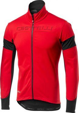Castelli Transition jacket rood/zwart heren