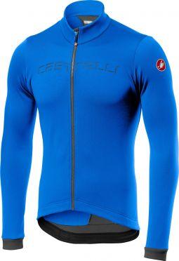 Castelli Fondo fietsshirt lange mouw blauw/grijs heren