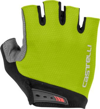 Castelli Entrata glove fietshandschoenen geel heren