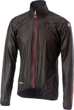 Castelli Idro 2 regen jacket zwart heren