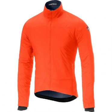 Castelli Elemento lite lange mouw jacket oranje heren