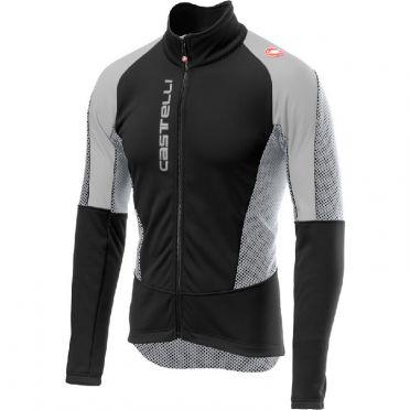 Castelli Mortirolo V jacket zwart/grijs heren