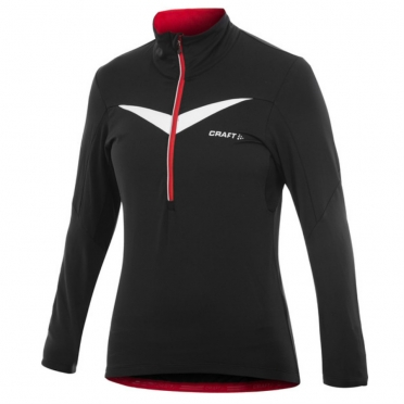 Craft Performance Bike Thermal Top dames zwart/rood 1902317