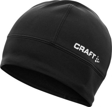 Craft Light thermal hardloopmuts zwart