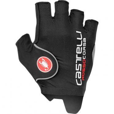 Castelli Rosso Corsa Pro handschoen zwart heren