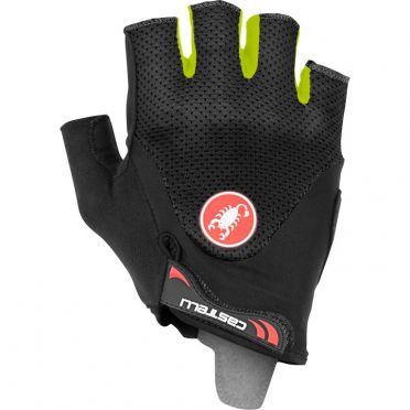 Castelli Arenberg gel 2 handschoen zwart/fluo geel heren