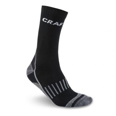 Craft Keep Warm multi 2-pack thermosokken zwart