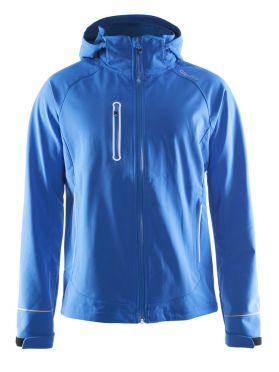 Craft Cortina soft shell winterjas blauw heren