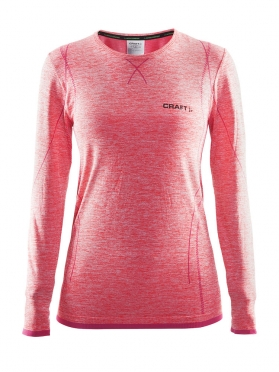 Craft Active Comfort roundneck long sleeve ondershirt roze dames