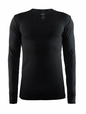 Craft Active Comfort roundneck long sleeve ondershirt zwart solid heren