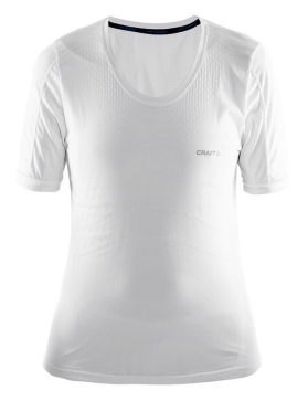 Craft Stay Cool Mesh Seamless shirt dames wit