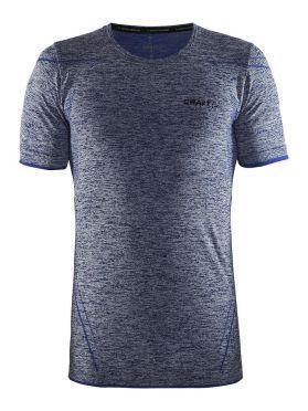 Craft Active Comfort korte mouw ondershirt blauw/thunder heren