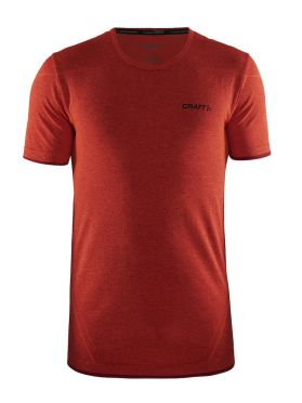 Craft Active Comfort korte mouw ondershirt rood/bolt heren
