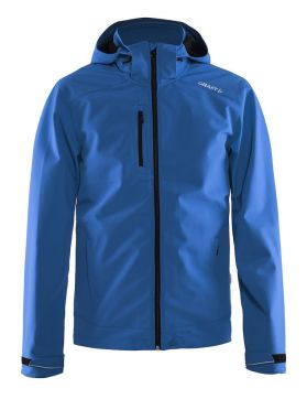 Craft Light softshell winterjas blauw heren
