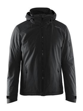 Craft Isola winterjas zwart heren