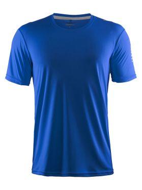 Craft Mind korte mouw hardloopshirt blauw heren