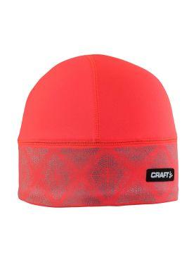 Craft Brilliant 2.0 hardloopmuts winter rood