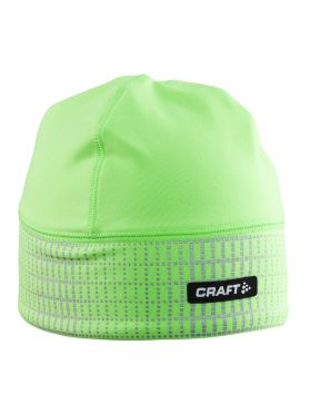 Craft Brilliant 2.0 hardloopmuts winter groen
