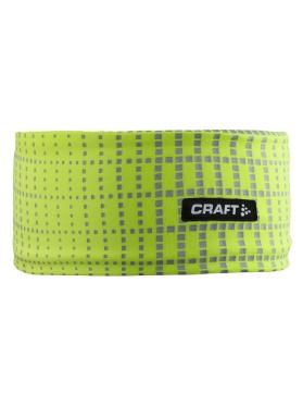 Craft Brilliant 2.0 hoofdband geel/reflectie