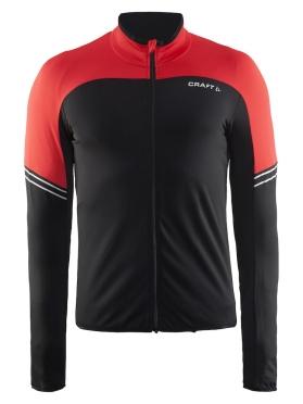 Craft Velo thermal fietsshirt lange mouw rood heren