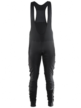 Craft Velo thermal wind bibtight fietsbroek zwart heren