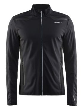 Craft Intensity softshell langlauf jack zwart heren