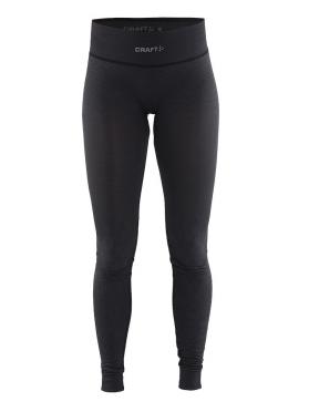 Craft Warm wool comfort lange onderbroek zwart dames