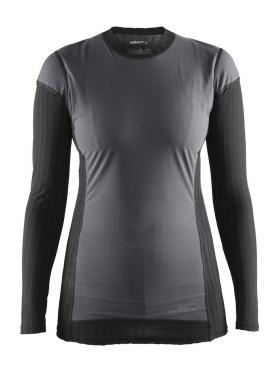 Craft Active Extreme 2.0 WS lange mouw ondershirt zwart/zilver dames
