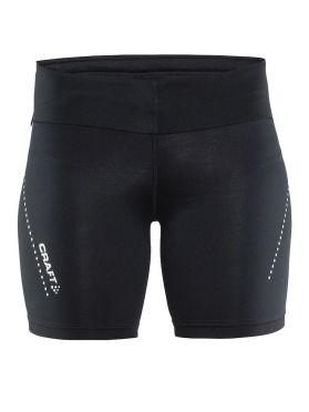 Craft Essentials hardloop short tights zwart dames