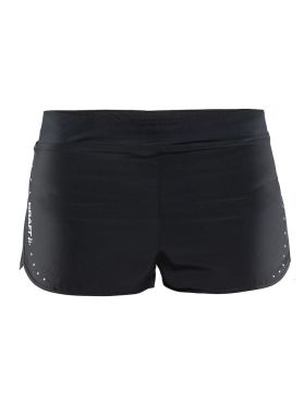 "Craft Essentials 2"" hardloop short zwart dames"