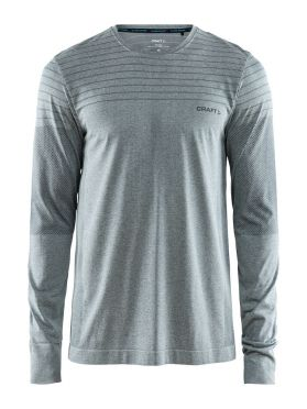 Craft cool comfort lange mouw ondershirt grijs/melange heren