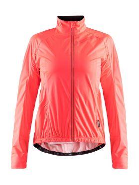 Craft belle regen fietsjacket roze dames