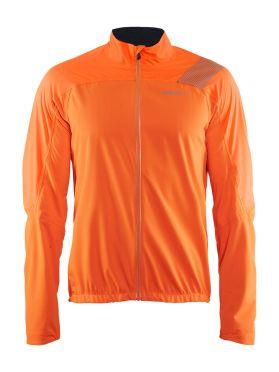 Craft Verve regen fietsjacket oranje heren