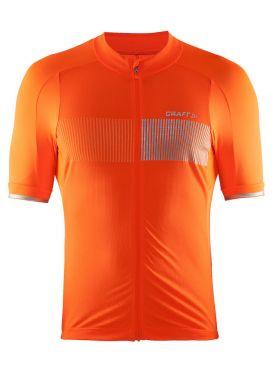 Craft Verve Glow fietsshirt oranje heren