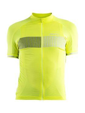 Craft Verve Glow fietsshirt geel heren