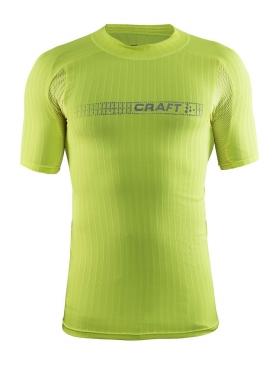 Craft Active Extreme 2.0 brilliant korte mouw ondershirt geel heren