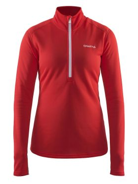 Craft Sweep halfzip Skipully rood dames