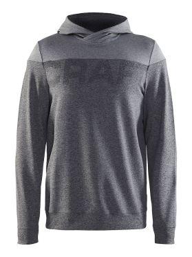Craft Tag hoodie Skipully grijs heren