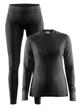 Craft Seamless Zone onderkleding voordeelset zwart dames