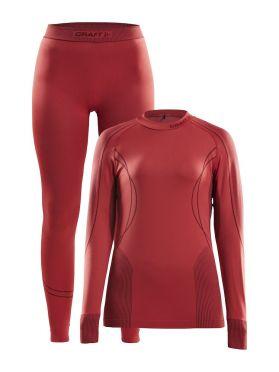 Craft Seamless Zone onderkleding voordeelset rood dames