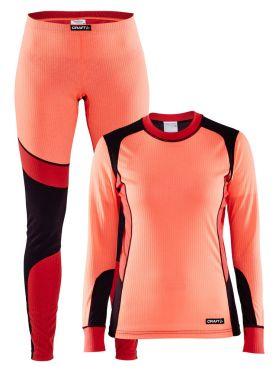 Craft Active onderkleding voordeel set oranje dames