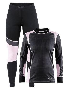 Craft Active onderkleding voordeel set grijs/roze dames