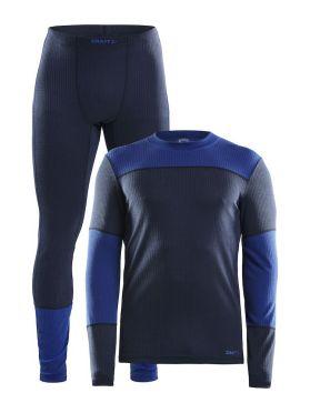 Craft Active onderkleding voordeel set blauw heren