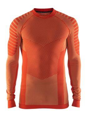Craft Active intensity crewneck lange mouw ondershirt oranje heren
