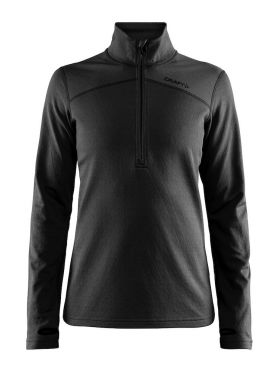 Craft Pin halfzip Skipully zwart dames