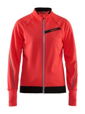 Craft belle glow fietsjacket roze dames