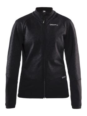 Craft rime jacket zwart dames