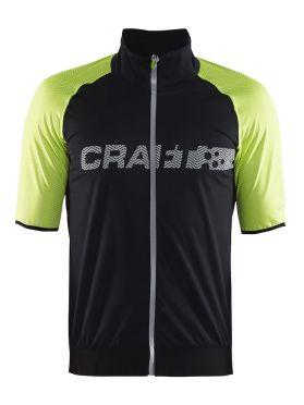 Craft Shield 2.0 fietsshirt zwart/flumino heren